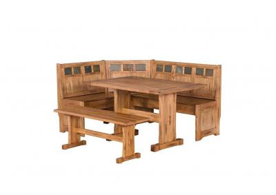 Image for Sedona Breakfast Nook with Side Bench