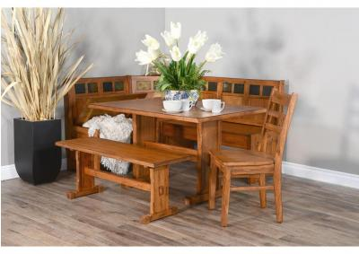 Image for Sedona Breakfast Nook with Side Bench and Chair