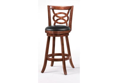 Image for Swivel Bar Stool - 29 Inch Cappuccino