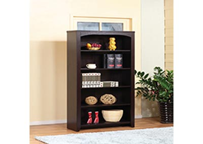 Image for Red Cocoa 5 Tier Bookcase