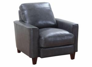 Image for Chino Top Grain Leather Chair - Gray