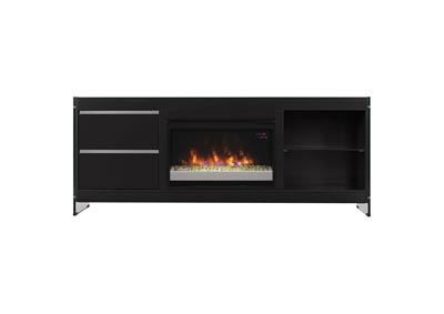 Image for Biscayne TV Stand with Electric Fireplace