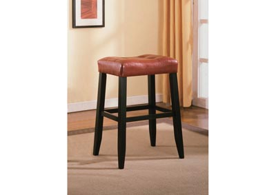 Image for Portman Bar Stool - 29 Inch Red
