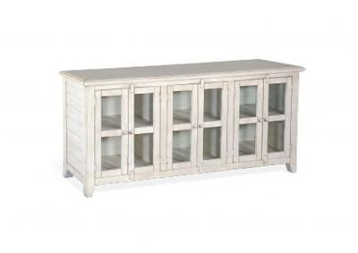 Image for Prairie View 70 Inch Entertainment Console Marble White