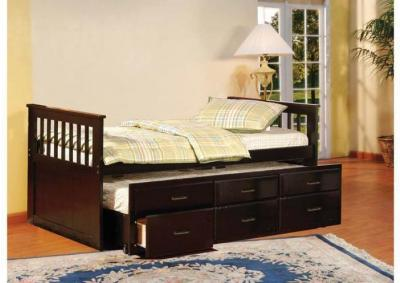 Image for Benny Captain's Trundle Twin Bed