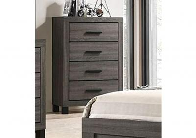 Image for Kaplin 4 Drawer Chest