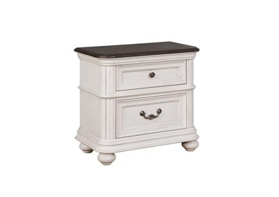 Image for Lanett 2 Drawer Nightstand with USB Charging Station