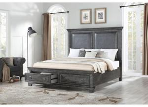 Image for Santa Fe Platform Storage Bed - California King