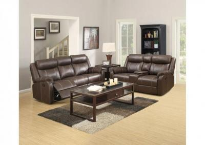 Image for Domino Dual Reclining Sofa and Love Seat