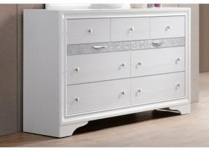 Image for Jewel White Dresser