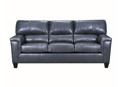 Image for Lane Furniture  Kennedy Top Grain Leather / Mate Sofa  Fog