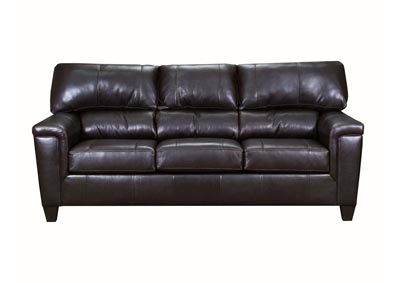 Image for Lane Furniture  Kennedy Top Grain Leather / Mate Sofa  Bark