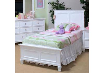 Image for Tami Twin White Bed