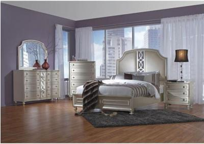 Image for Fantasia Upholstered Bedroom Set - California King