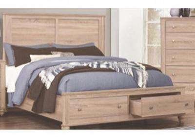Image for Seaside Panel Storage Bed - Full