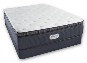 Image for Beautyrest Platinum Spring Grove Luxury Firm Pillow Top Mattress and Foundation - Queen