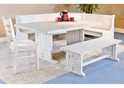 Image for Bayside Breakfast Nook with Side Bench and Single Chair