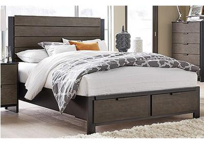 Image for Paxton Storage Platform Bed - Queen