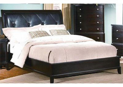 Image for Charlie Padded Panel Bed - Full