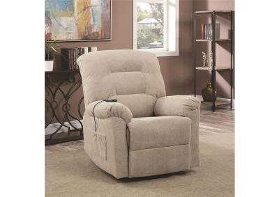 Image for Maverick Power LIft Recliner - Taupe - Special Order