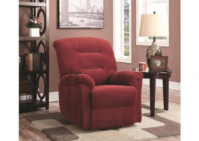 Image for Maverick Power Lift Reclining Chair - Brick - Special Order