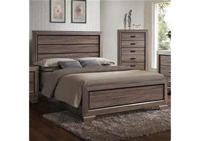 Image for Farrow Twin Panel Bed - Gray