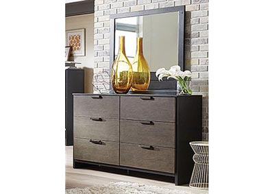 Image for Paxton 6 Drawer Dresser and Mirror