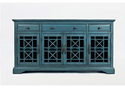 Image for Craftsman 60 inch Media Unit - Antique Blue