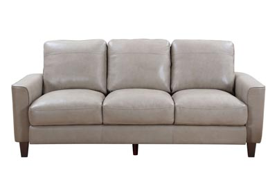 Image for Chino Top Grain Leather Sofa - Beige