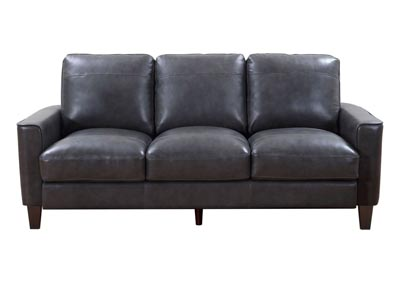 Image for Chino Top Grain Leather Sofa - Gray