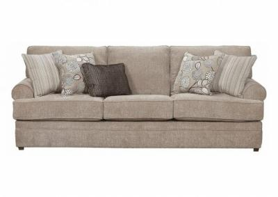Image for Simmons Roosevelt Stationary Sofa - Pewter