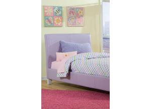 Fantasia Twin Lavender Platform Bed