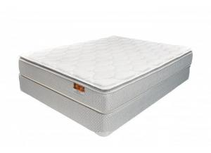 Liberty Pillow Top Twin Mattress and Foundation