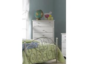 Spring Rose 5-Drawer Chest