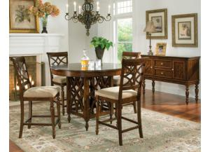 Woodmont Counter Height Table with 4 Stools