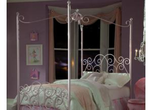 Princess Twin Canopy Bed