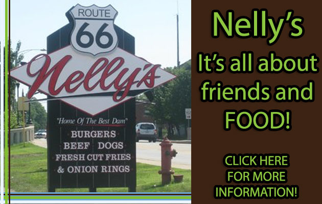 Nelly's Restaurant Side Ad