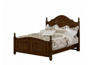 French Market Cherry Queen Poster Bed