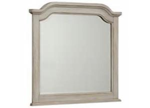 Arrendelle Rustic White Finish Arch Mirror