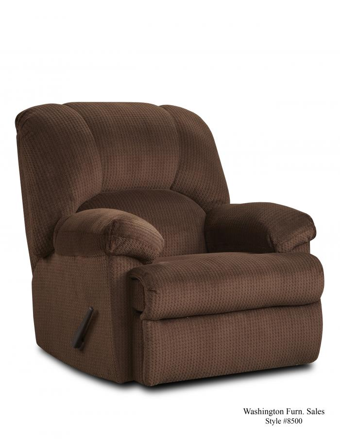 FEEL GOOD CHOCOLATE RECLINER,Washington Sofa