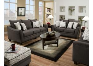 Image for Flannel Seal Sofa & Loveseat