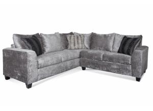 Amaron Cement 2PC Sectional