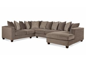 Milky Way Silver 3 PC Sectional