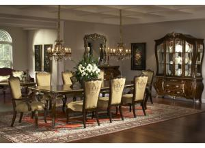 Imperial Court Dining Table & 6 Chairs