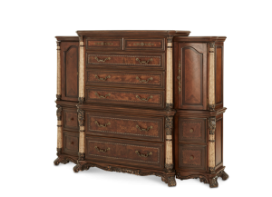 Victoria Palace (6 Drawer Chest with Left and Right Piers)