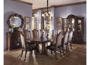 Monte Carlo II Café Noir Table & 6 Chairs