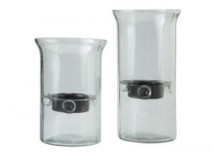 Image for Kadeem Clear Candle Holder (Set of 2)