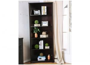 Rockwall Espresso Bookshelf