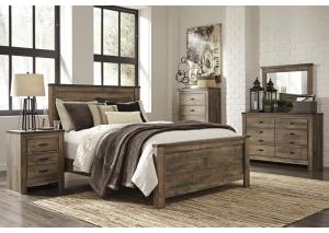 Image for Trinell Queen Panel Bed w/Dresser, Mirror and Nightstand