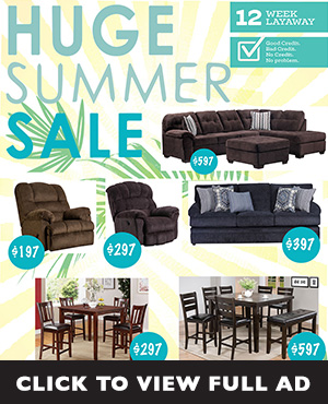 Huge Summer Sale